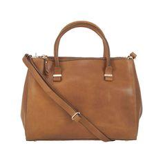 Leren laptoptas Wieske cognac voor dames. Een elegante en stoere laptoptas in geschuurd cognac leer. Zowel zakelijk als casual te gebruiken. €10,- korting!