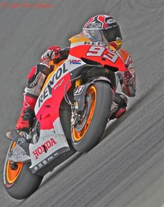 Spain's Marc Marquez,the Best in the world right now in Racing.