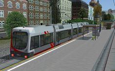 Niederflur-Strassenbahn RNV4126