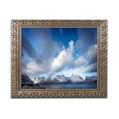 Trademark Fine Art Philippe Sainte-Laudy Sweater Weather Framed Wall Art - PSL0576-G1114F