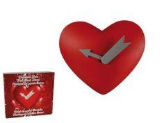 Zegar serce - Trafiony prezent
