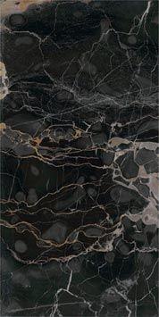 Baldosas en Gres Porcelánico: Nero portoro a: Precious stones
