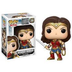 Figurine POP Justice League Wonder Woman