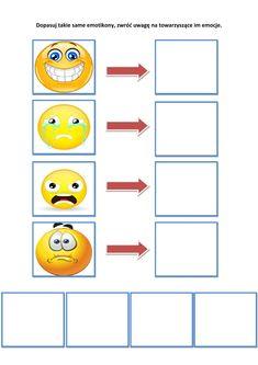 Książka na dopasowywanie - EMOCJE Katarzyna Kołodziejska Pomoce dydaktyczne Kids Learning Activities, Bar Chart, Diagram, Diy, Activities, Therapy, Gaming, Index Cards, Learning Activities For Kids