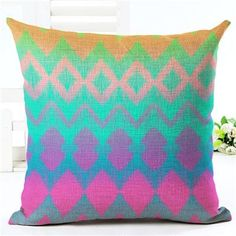 Colorful Rainbow Cushion Covers