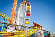 Engagement Session: Perry and Currier and the Santa Monica Pier