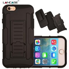 For iPhone 6 Case Rugged Impact Belt Clip Holster Cover for iPhone 6 Plus Shockproof Kickstand PhoneCases for iPhone 6s 5s 6Plus