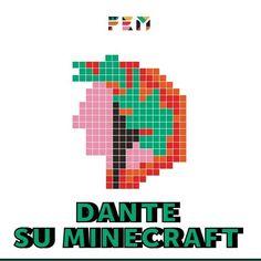 """Vita di scuola on Instagram: """"💬 Come avrebbe raccontato #Dante il suo viaggio tra i regni se avesse giocato a #Minecraft? La risposta è """"Dante su Minecraft"""":…"""" Minecraft, Coding, Logos, Instagram, Logo, Programming"""