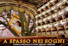 A Spasso nei Sogni - Teatro Comunale di Ferrara Abbado un laboratorio pratico di Teatro e Fotografia per i bambini dai 6 ai 13 anni.