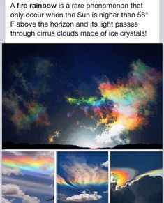 Fire Rainbow - Beautiful The Effective Pictures We Offer You About Life Sc Photo Trop Belle, Pretty Pictures, Cool Photos, Amazing Photography, Nature Photography, Abstract Photography, Fire Rainbow, Rainbow Art, Wow Art