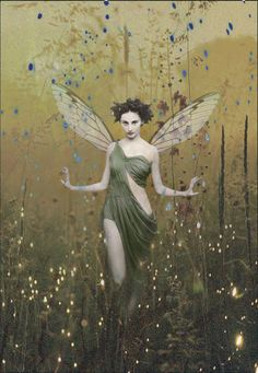 ≍ Nature's Fairy Nymphs ≍ magical elves, sprites, pixies and winged woodland faeries - Romany Soup art