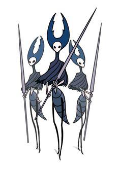 Hollow Knight by Team Cherry — Kickstarter The 3 Mantis Lords Knight Tattoo, Team Cherry, Hollow Art, Hollow Night, Knight Games, Knight Art, Game Concept Art, Creature Design, Fantasy Creatures