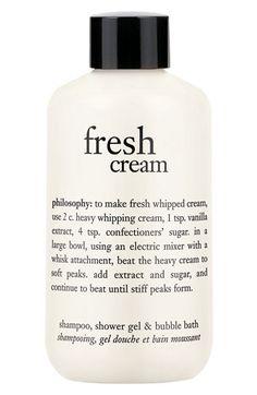 Philosophy Fresh Cream Shampoo Shower Gel Bubble Bath Buy Save
