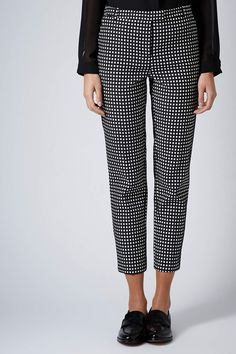 Gingham cigarette trousers. £42. After buying the gingham tube, the trousers are essential.