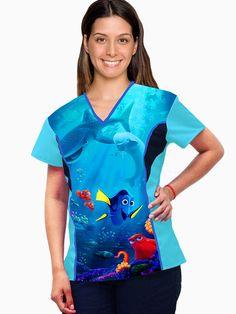 Scrubs Uniform, Medical Field, Dental, Tie Dye, Caregiver, Sewing, Mary, Women, Fashion