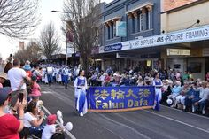 Toowoomba, Australia: Tian Guo Marching Band Welcomed at Major Festival   Falun…