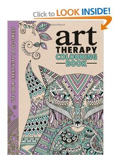 The Art Therapy Colouring Book: Amazon.co.uk: Richard Merritt, Hannah Davies, Cindy Wilde: Books