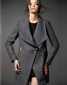 Check the details and price of this Gray Wool Blend Lapel Single Breasted Coat (Dark gray, HZY) and buy it online. VIPme.com offers high-quality Coats at affordable price.