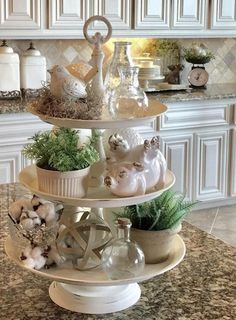 80 Best Farmhouse Dining Room Makeover Decor Ideas – HomeSpecially Kitchen – home accessories Country Decor, Rustic Decor, Rustic Theme, Kitchen Island Decor, Kitchen Tray, Kitchen Ideas, Pig Kitchen, Kitchen Vignettes, Kitchen Herbs