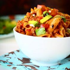 Addicting, Easy and Healthy Taco Pasta