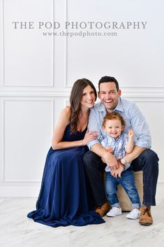 Beautiful Studio Family Portraits