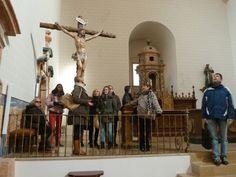 Visita guiada Iglesia gótica del Fuerte de San Francisco. Visitas guiadas en la provincia de Guadalajara y Alcalá de Henares. Podéis contactar a través del formulario de contacto de la web www.guiadosenguadalajara.es o ✆ 679 97 65 03.