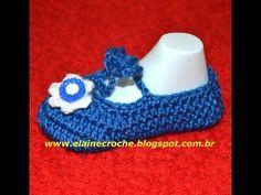 CROCHE - SAPATILHA DAMINHA BABY - YouTube Crochet Videos, Crochet Baby, Crochet Earrings, Baby Shoes, All Star, Kids, Free, Friends, Youtube