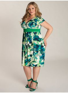 Lucretia Plus Size Dress  Work Wear Collection by IGIGI real beauty | Big Fashion Show plus size dresses