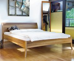 Kuschelige Zeiten Bett Pace Mit Heller Bettwasche Bedroom