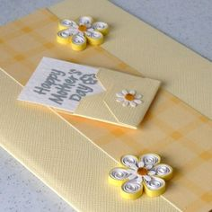 Cards Stationery Weddings Supplies Paper Quilling Mother S Day Card