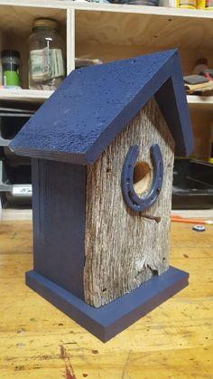 Rustic Barnwood Birdhouse Farmhouse Birdhouses, Rustic Farmhouse Decor, Barn Wood, Bird Houses, Candlesticks, Gardening, Outdoor Decor, Home Decor, Candle Holders