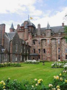Thirlstane Castle.