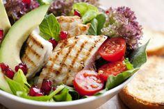 gegrilde kip salade