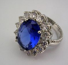 Kenneth Jay Lane Princess Ring       sizes 7 #KennethJayLane