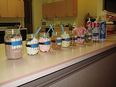 HOT Chocolate Buffet!!! Best party idea for the holidays!
