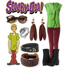 """""""Shaggy 2 - Scooby Doo"""" by b-scottyer on Polyvore"""