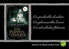 Unheimlich, schaurig-schön und immer wieder anders als erwartet - eine XXL-Leseprobe aus Maja Ilischs DAS PUPPENZIMMER steht hier für euch kostenlos zum Download bereit: http://www.dotbooks.de/e-book/232490/das-puppenzimmer-xxl-leseprobe