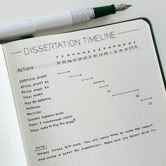 Dissertation #timeline (#planwithmechallenge day20: career) _______________ The #dissertation defense date is set for 21st April. And terror has not loosened its grip on me since the day I scheduled the defense date. To allay some of my fears, I've planned out the entire process to show myself it is doable. Although this spread is specific to my dissertation, you can apply the same idea to any large project. Note: the header rows indicate the month (e.g. F for Feb) and the date of the Monday…