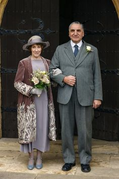 Downton Abbey s6 - The Carsons
