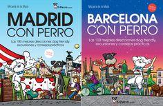 Nueva edición de Barcelona con Perro y Madrid con Perro, ¡por fin una buena noticia en 2020! | SrPerro, la guía para animales urbanos. Madrid, Barcelona, Comic Books, Comics, Cover, High Five, Book Design, Useful Life Hacks, Kawaii Things