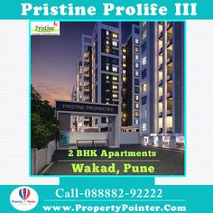 The Pristine Prolife Wakad Pune has been wanted to outfit eco-accommodating and solid living encounters to individuals. Pristine Prolife Wakad Pune highlights choice offices and entertainment open doors for the inhabitants. At Pristine Prolife there are Swimming pools will be there so tenants can have great time at poolside with their children.  #flatsinpune #apartmentsinpune