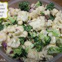 Broccoli, Cauliflower & Bacon Salad