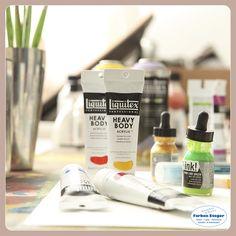 Die feinsten Tubenfarben von Lefranc Bourgoise Paris Acrylique, Liquitex Heavy Body, Spray Point und INK! Acryltusche lassen sich allesamt kombinieren. Viel Spaß beim Ausprobieren. #künstlerrabatt #aktion #acrylfarben #keilrahmen #lefrancbourgoise #liquitex #kauflokal #farbensteger #shopping #josalzburg Liquitex, Lime, Paris, Canvas Frame, Deco, Action, Weather, Limes, Montmartre Paris