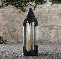 Summer Beach House Décor. Love this lantern.