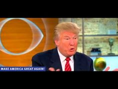 Trump Is On Fire! Goes On CBS And Knocks Charlie Rose & Co. For A Loop With His Answers On Iraq, Russia, ISIS, Etc.