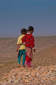 Berber children -    Berber children, Middle Atlas Moluntains, Ziz Valley, Morocco        ...