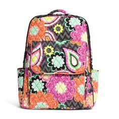 Ultimate Backpack in Ziggy Zinnia, $88 | Vera Bradley