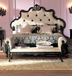 french rococo luxury bed, I WANT THIS BED!
