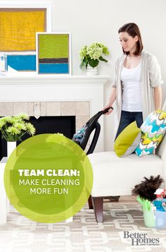 Tired of cleaning the house alone? Here are some tips to make it easy for others to help: http://www.bhg.com/homekeeping/house-cleaning/tips/cleaning-help/?socsrc=bhgpin081513teamclean
