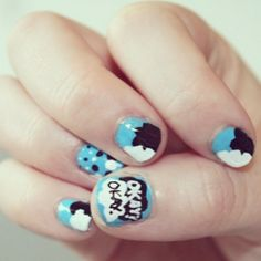 The Fault In Our Stars manicure!